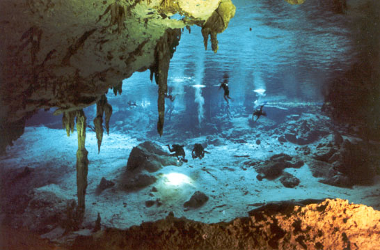 Cenote Dos Ojos one of the most amazing cenotes in the Riviera Maya